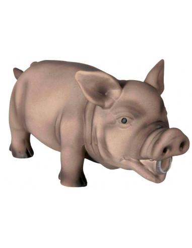 Porco Com Som Original Latex - 23 Cm Trixie Outros