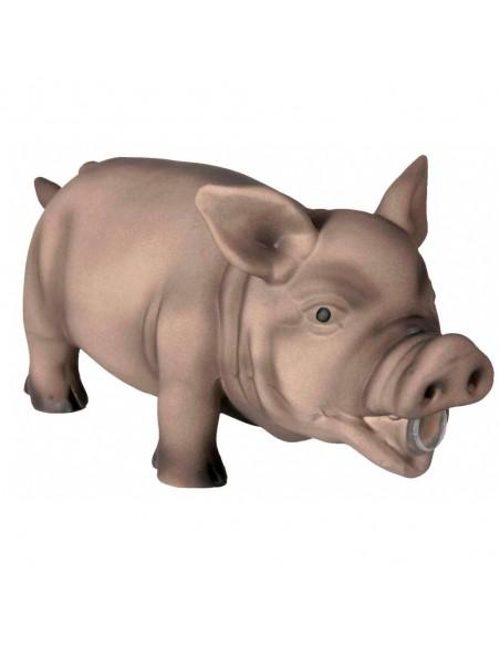 Porco Com Som Original Latex - 23 Cm