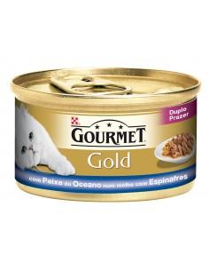 Gourmet Gold Duplo Prazer Gourmet Alimentação Húmida para Gatos