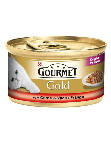 Gourmet Gold Duplo Prazer | Comida Húmida para Gatos | Gourmet