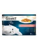 Gourmet Perle Finos Pedaços Gourmet Alimentação Húmida para Gatos
