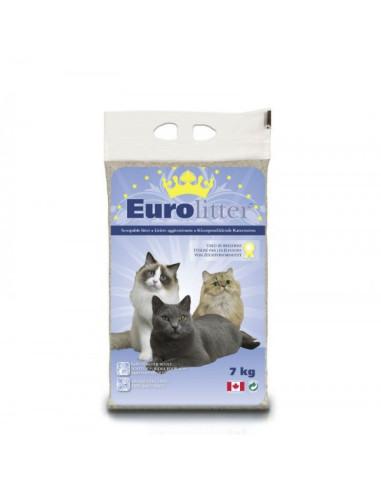 Areia Aglomerante para gatos EuroLitter  Eurolitter Areia para gatos