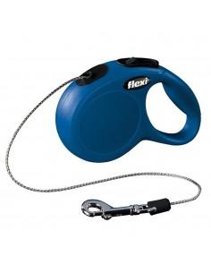 Flexi New Classic (Fio/Tam. Xs) 3 Mt / 8 Kg (Azul) | Trelas Extensíveis | Trixie