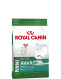 Royal Canin Mini Adult +8, Alimento Seco Cão Royal Canin Alimentação Seca para Cães