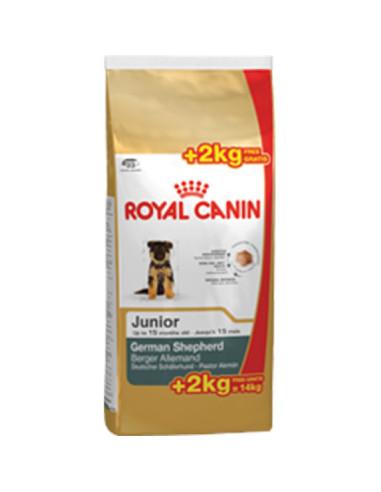 Royal Canin Pastor Alemão Junior 12+2kg Grátis, Alimento Seco Cão