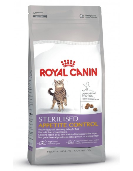 Royal Canin Sterilised Apetit Control Gato, Alimento Seco | Ração para Gatos Esterilizados | Royal Canin