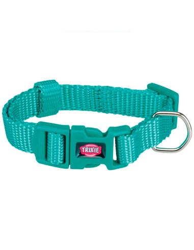 Coleira  Premium  (Xs-S) 22-35 Cm / 10 Mm (Turquesa)   Coleiras para Cães   Trixie